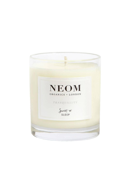 NEOM Perfect Night's Sleep Basil, Jasmine & Lavender Scented Travel Sleeping Candle