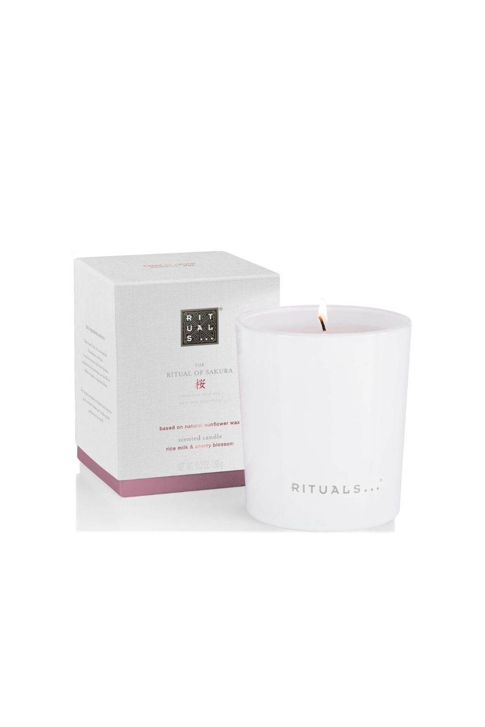 The Ritual of Sakura scented candle by Rituals 290 g