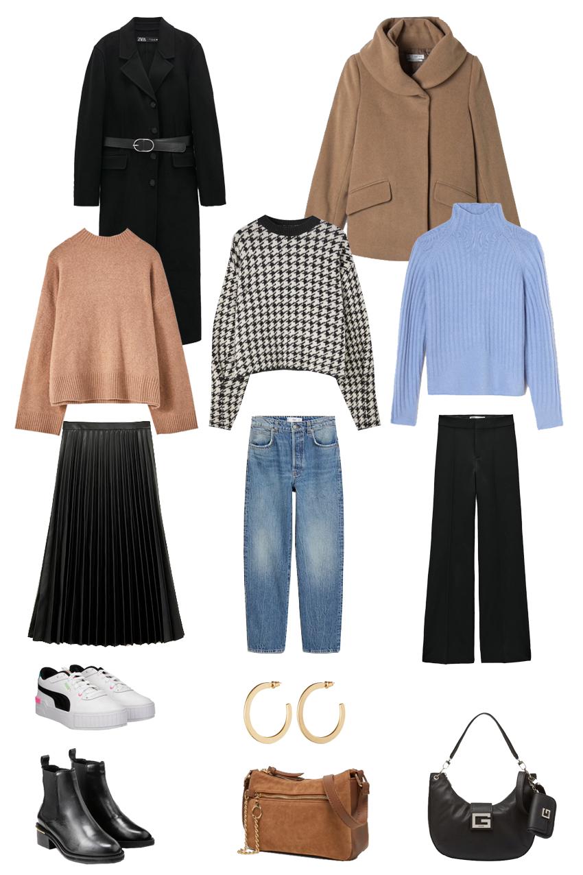 Sale capsule wardrobe: 9 looks for very little