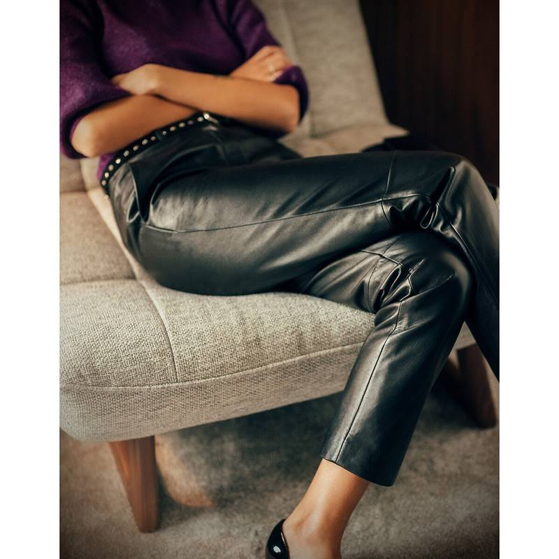 La redoute leather pants
