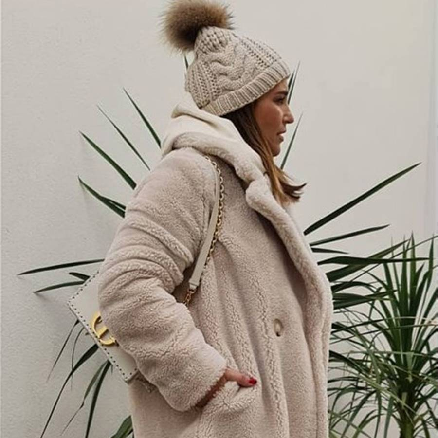 Paula Echevarría has found the most ideal warm winter look