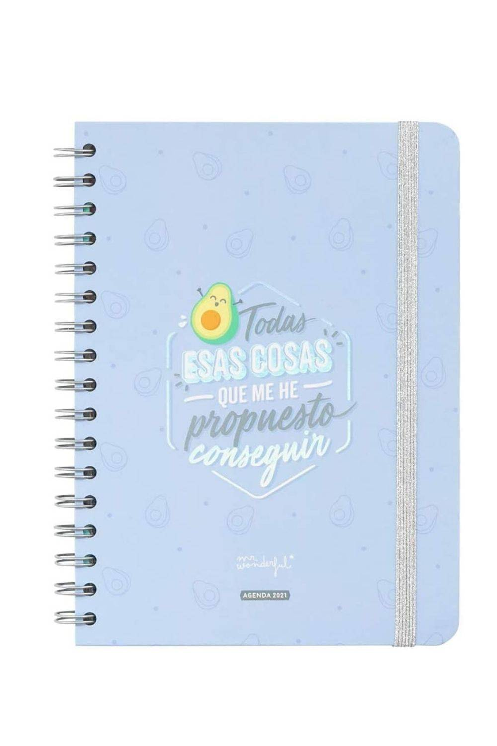 Agenda de Mr Wonderfull