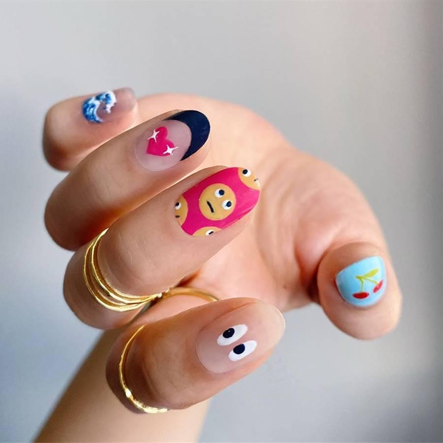"""Súper tendencia: """"Indie nails"""", la manicura más divertida para tus uñas"""