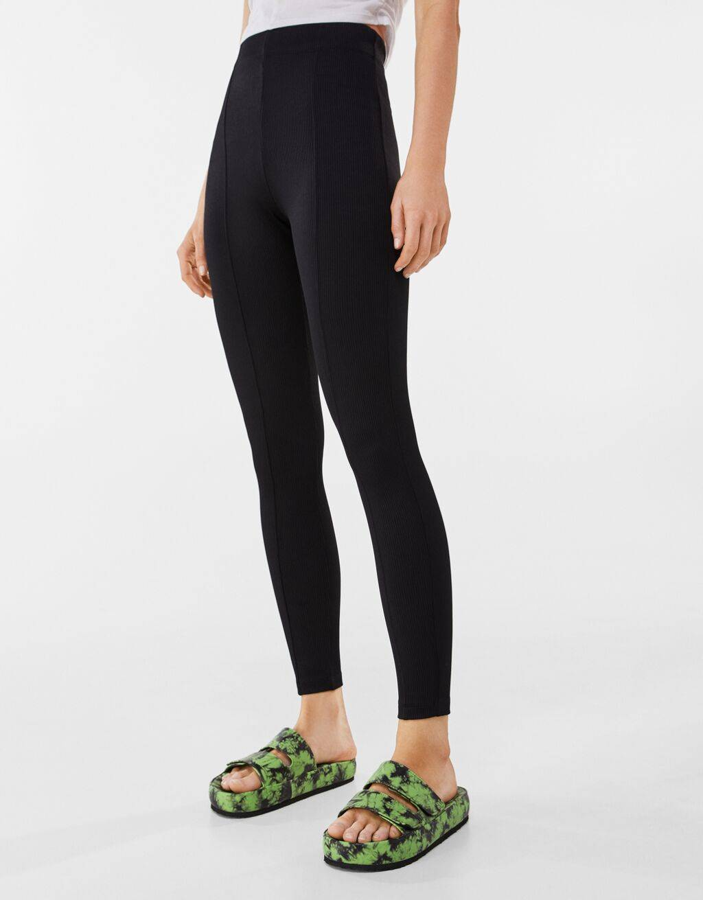 Leggings rib