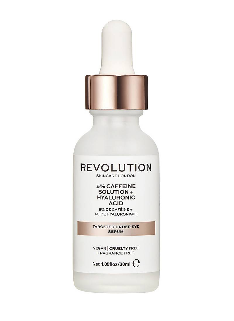 5% Caffeine + Hyaluronic Acid Serum de Revolution