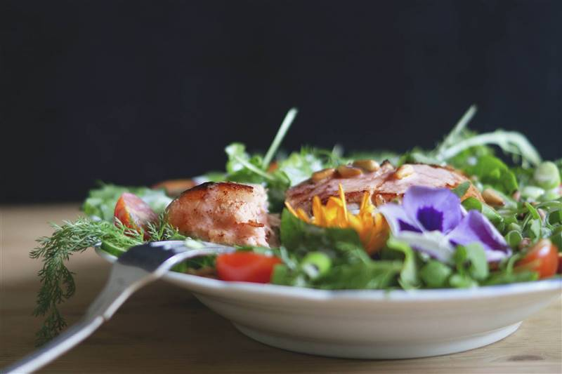 ensaladas de pescado