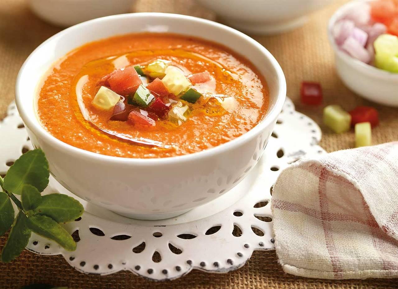 recetas de gazpacho tradicional andaluz